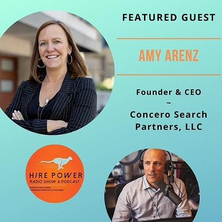Amy Arenz: Hire Power Radio Podcast